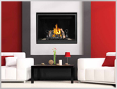HD40 40 Inch High Definition Gas Fireplace