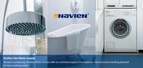 Navien Endless Water Supply